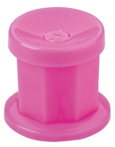 Sinelco Dappen Dish Pink&Lid