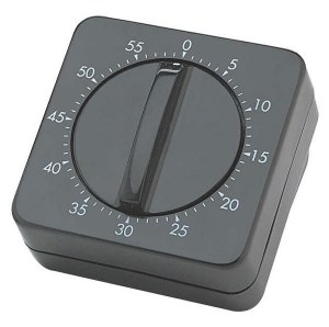 Sinelco Manual Timer Black