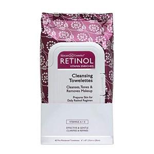 Retinol Cleansing Wipes 60pk