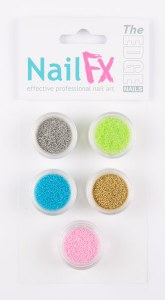 The Edge Nail Art Beads A 5pk