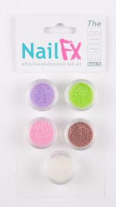 The Edge Nail Art Beads B 5pk