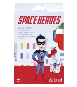 Sinelco Kids Cape Space Hero