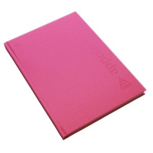 Agenda App Book Pink 6 Ass Dis