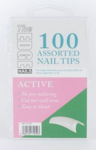The Edge Active Tips 100 Ass
