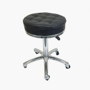 Agenda Cross Stitch Stool Blk