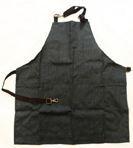 HT Barber Apron Charcoal
