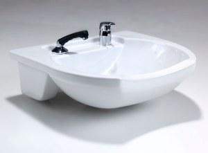 Rem Porcelain Frontwash Basin