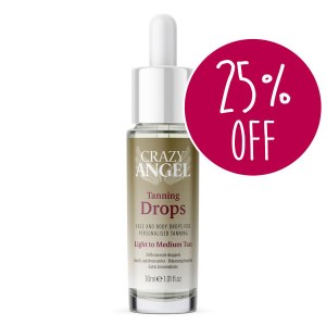 Crazy A Tanning Drops 30ml