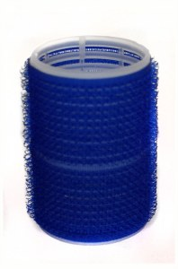 HT Velcro Rollers Large Blue
