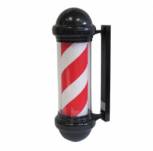 Agenda Barber Pole Black