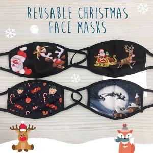 MC Reusable Face Mask Xmas