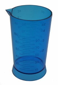Denman Blue Peroxide Measure