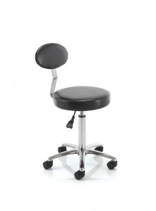 Rem Cutting Stool With Back Bk
