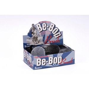 Denman BeBop Blk & Silver 12pc