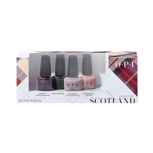 OPI Scotland Lacquer Mini 4pk