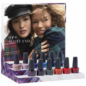 OPI Scotland Lacquer 12pc
