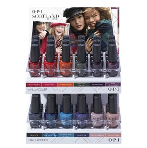 OPI Scotland Lacquer 36pc
