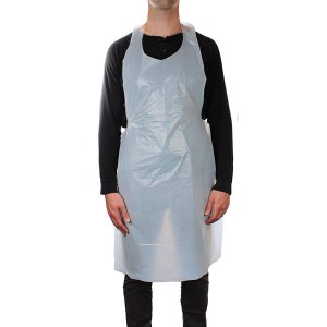 MC Dis Aprons White 100pk