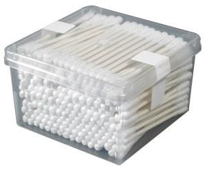 EG Cotton Buds Plastic 200pk