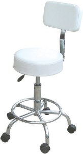 Hof Compact Stool & Backrest W
