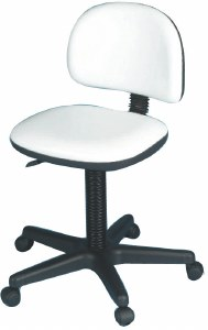 Hof Elite Stool Gaslift White