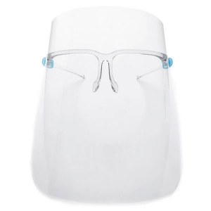 MC Face Shield With Glasses