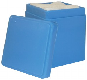 Mundo Gauze Holder Blue