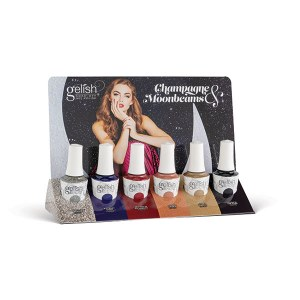 Gelish Champagne & Moon 6pc
