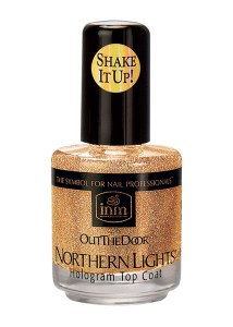 INM Holo Top Coat 15ml Gold