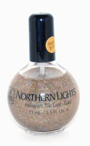 INM Holo Top Coat 73ml Gold