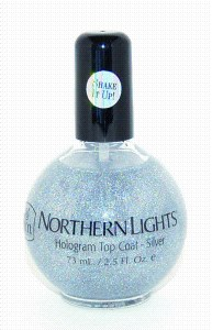 INM Holo Top Coat 73ml Silver