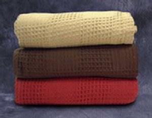 Majestic Honeycomb Blanket Wh