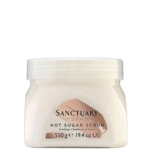 Sanctuary Hot Sugar Scrub 550g