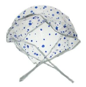Denman Rain Hood Polka Dot