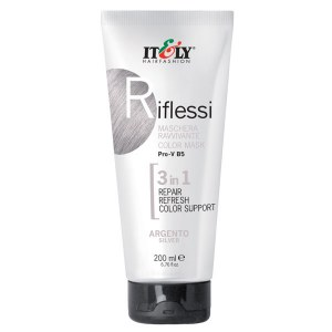 Italy 3 in 1 Mask Silver