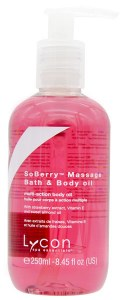 Lycon SoBerry Massage Oil 250m