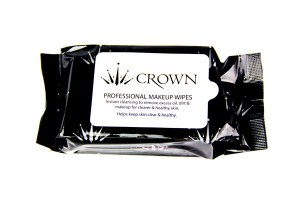 Crown Br Prof Makeup Wipes