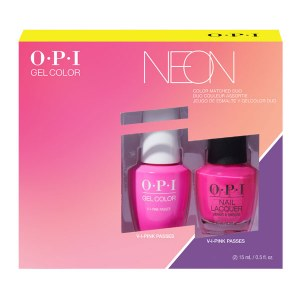 OPI Neon Duo Gel/Lac Duo Pink
