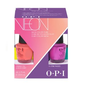 OPI Neon Lacquer Minis 4pk