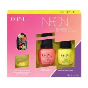 OPI Neon Duo Nail Art Orange