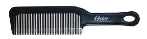 Denman Oster Flat Comb Blk Dis