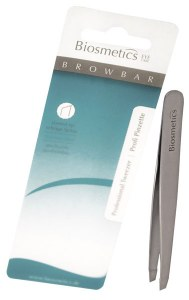 Biosmetics Tweezers Silver