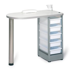 Rem Nail Station Tray White