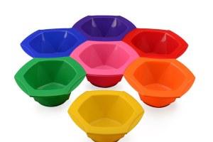 Agenda Rainbow Tint Bowls 7pc