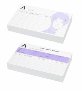 Agenda Hair Record Cards