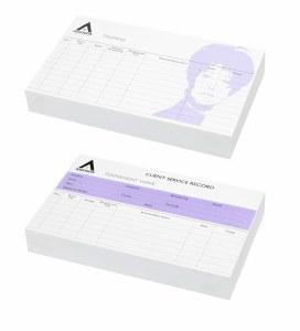 Agenda Hair Record Cards