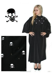 HT Skull Gown with Poppers