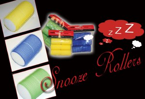 HT Snooze Rollers Blue 40mm