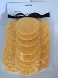 SP Yell Mask Rem Sponges 24pk