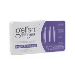 Gelish Soft Gel Tips Round M